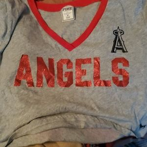 Pink angels shirt